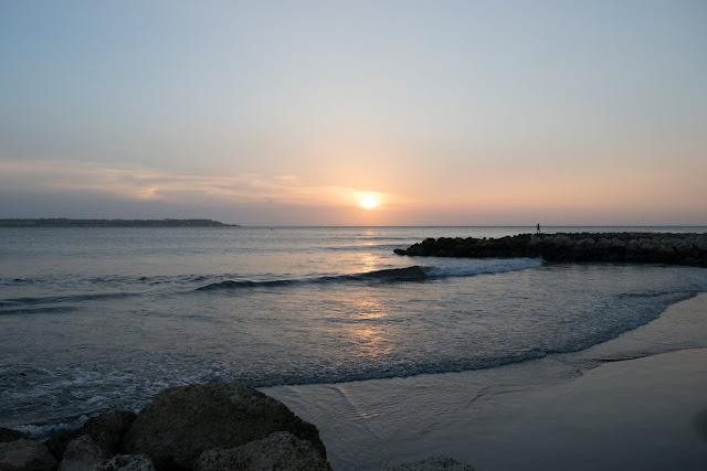 por do sol praia bocagrande cartagena hotel hilton