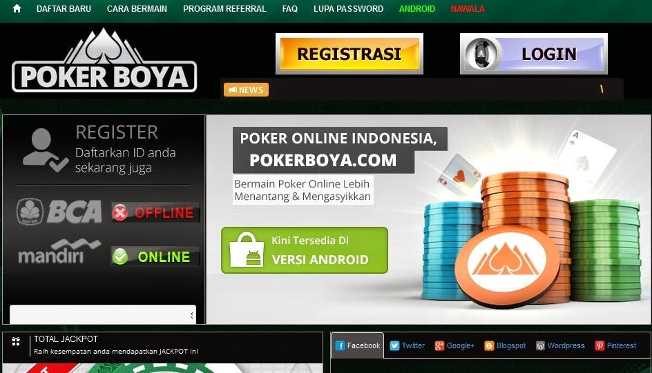 Poker Online Domino Online Cara Daftar Dan Bermain Boya Poker Agar Terus Menang