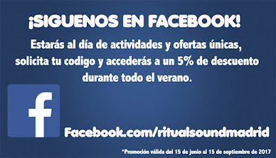 5% descuento codigo privado en facebook