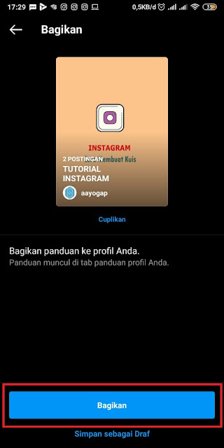 Cara Membuat Guide di Instagram (9)