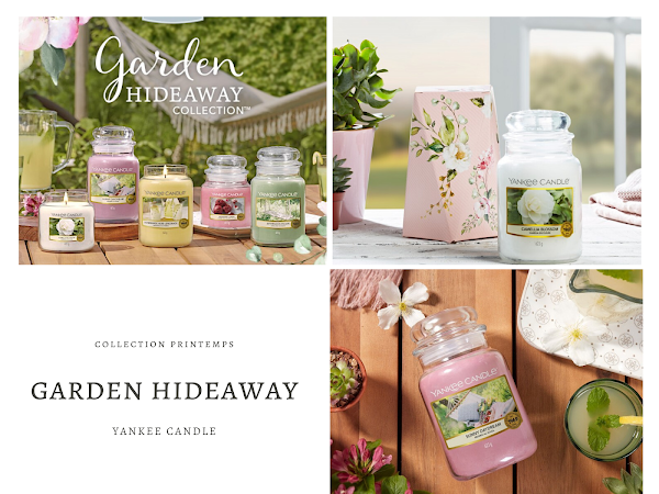 YANKEE CANDLE | GARDEN HIDEAWAY - NOUVELLE COLLECTION PRINTEMPS