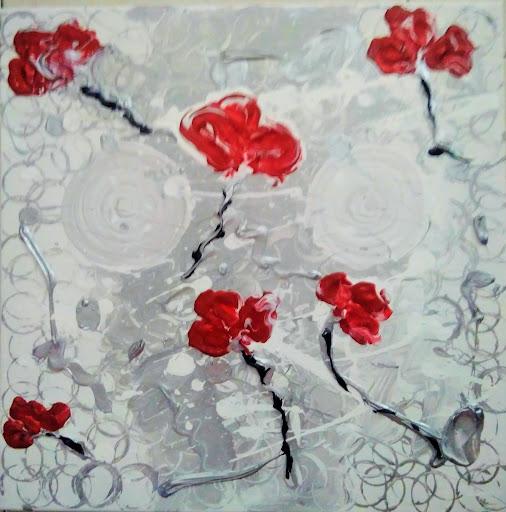 Pintura Acrílica - Dança De Amor