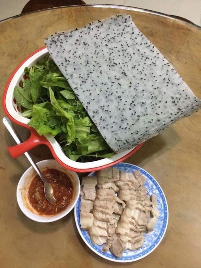 Bánh tráng mè  - Minh Tâm