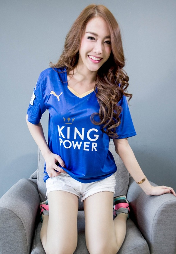 Leicester City Fans Girl