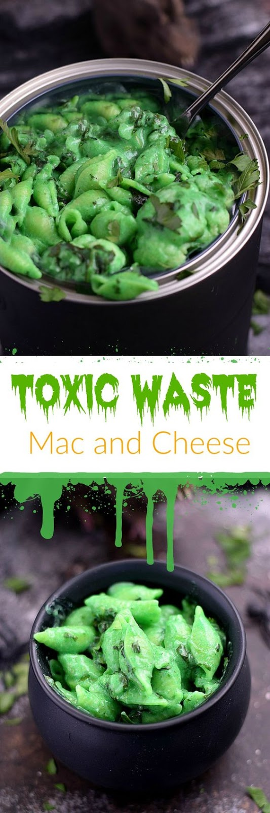 Toxic Waste Mac and Cheese