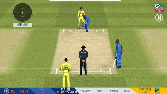 Real Cricket™ 19 game play