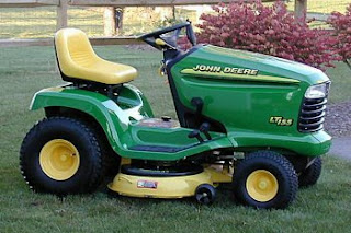 How Do I Take Away The 38 Inch Mower Deck On A John Deere Lt155 Riding