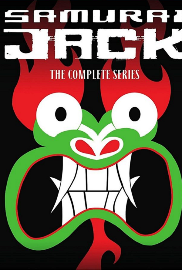 Samurai Jack [The Complete Series] [2001] [The Complete Serie] [DVD9] [NTSC] [Latino] [8 DISC]