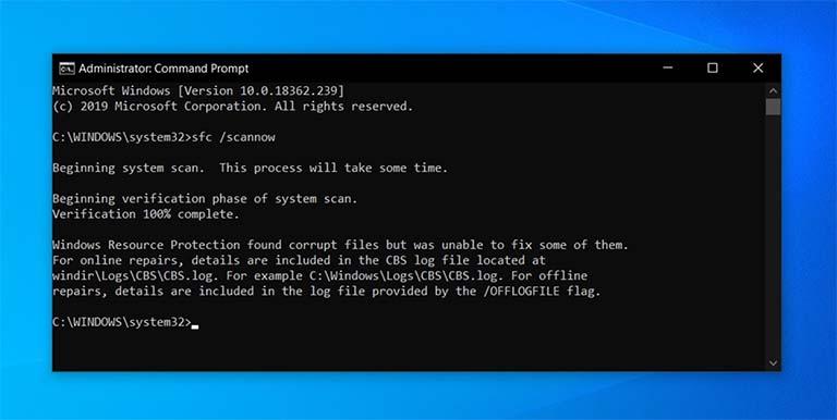 Microsoft Meluncurkan Pembaruan Untuk Memperbaiki Fitur SFC Windows 10