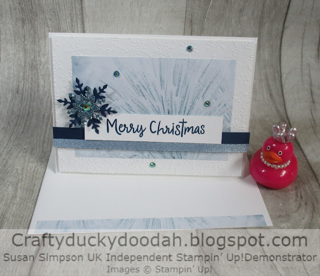 Craftyduckydoodah, Feels Like Frost, Stampin' Up, Stamp 'N Hop,