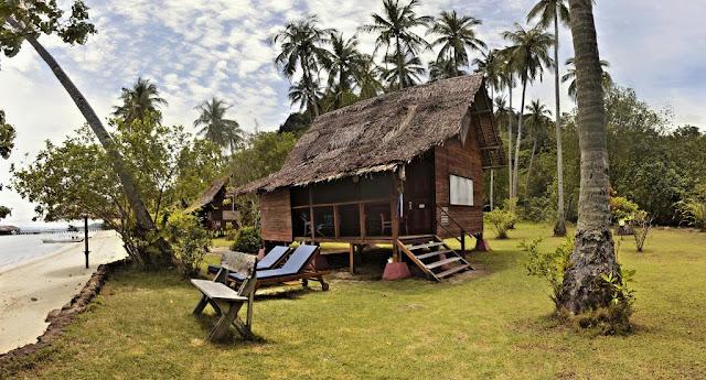 Rumah Mungil khas daerah - Cubadak, Sumatra Barat
