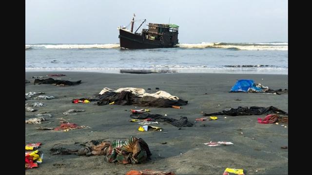 Terkatung-katung di Laut, Muslim Rohingya yang Meninggal Dibuang