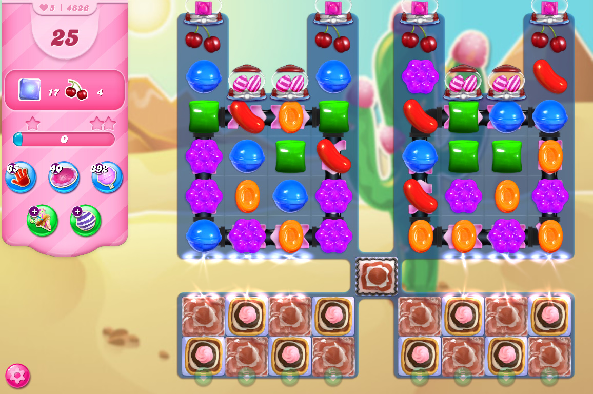 Candy Crush Saga level 4826