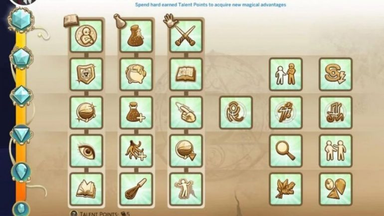 Advantages in The Sims 4: And The Kingdom of Magic