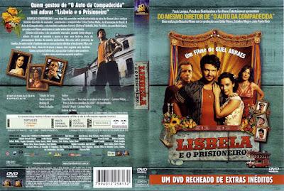 Filme Lisbela e o Prisioneiro DVD Capa