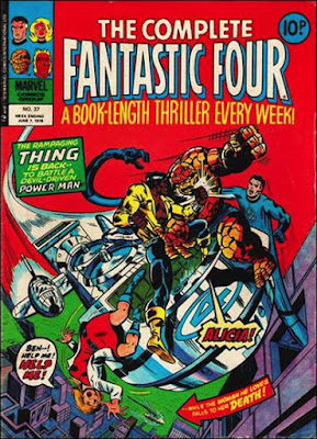 Marvel UK, Complete Fantastic Four #37, Power Man