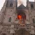 Incendio en catedral de San Pedro y San Pablo en Francia pudo ser provocado, estiman autoridades