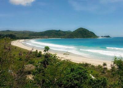 tempat-wisata, lombok, pantai-selong-belanak