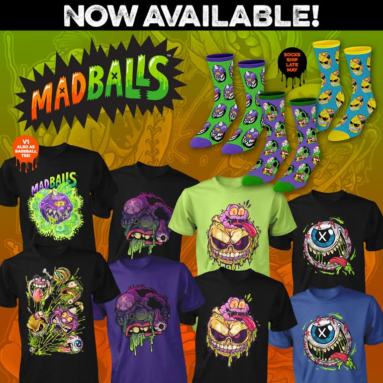 Idle Hands: Fright-Rags' MADBALLS Apparel Creeping Into Your