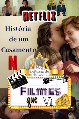FILME: HISTÓRIA DE UM CASAMENTO