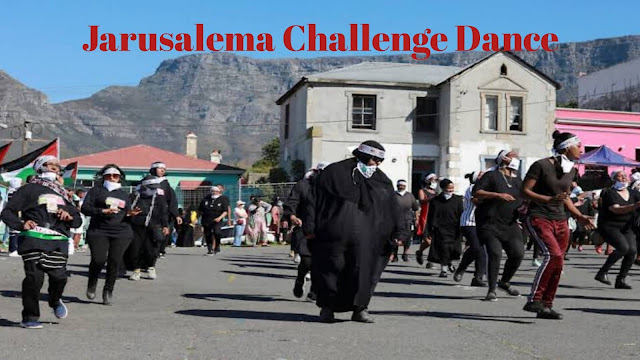 Jerusalema challenge dance. The viral dance challenge from South Africa