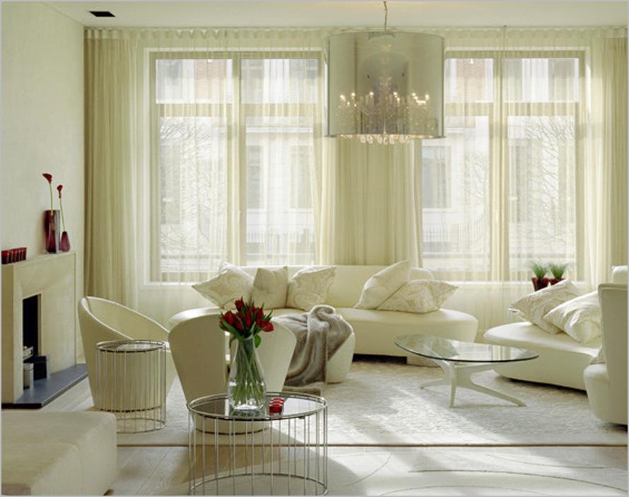 Living Room Curtain Design Ideas