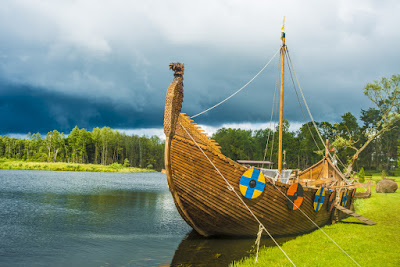 Scandinavian Viking Ship