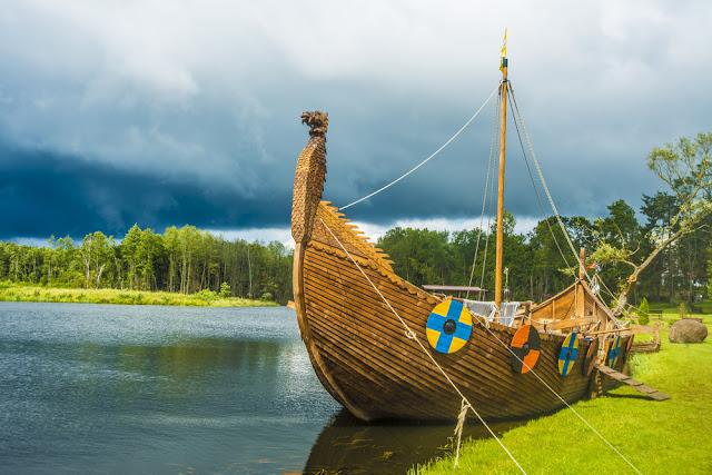 Scandinavian Viking Ship