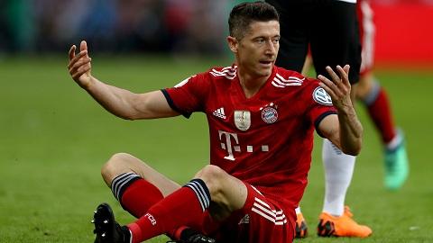 Lewandowski đã phải chịu rất nhiều áp lực trước khi rời Bayern Munich