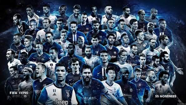 FIFA FIFPro World 11 Initial Shortlist Revealed