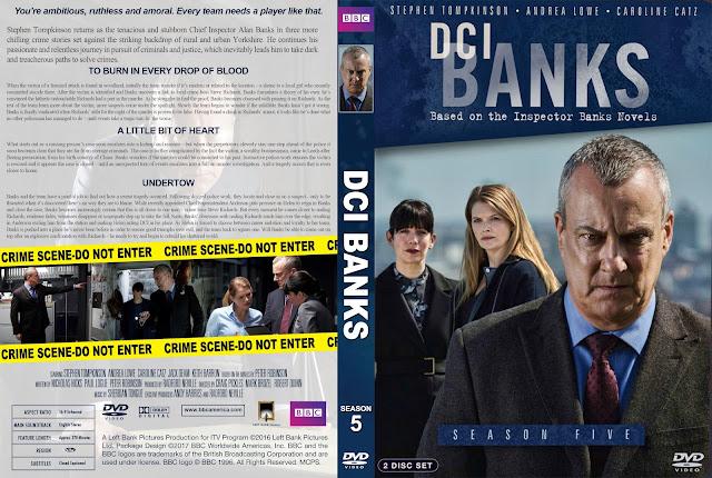 DCI Banks Season 5 DVD Cover