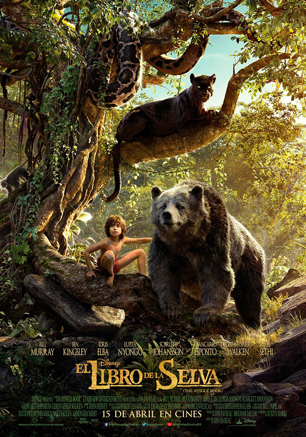 Cartel El libro de la selva