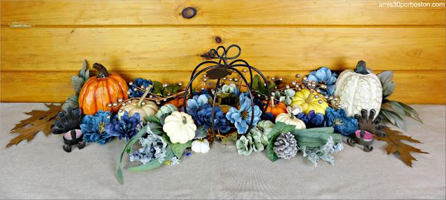 Decoraciones de la Mesa de Nuestra Cena de Acción de Gracias