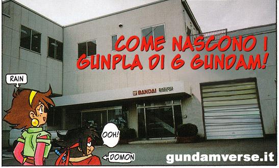 [SCANLATION] Come nascono i gunpla di G Gundam!