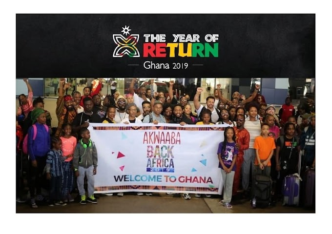 Ghana to grant citizenship to 200 African Americans as part of 'Year of Return 2019'