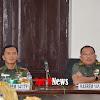 Kolonel Inf Suwarno, Pimpin Rapat Evaluasi Program Kerja Anggaran 2020 di Makorem 141/Tp