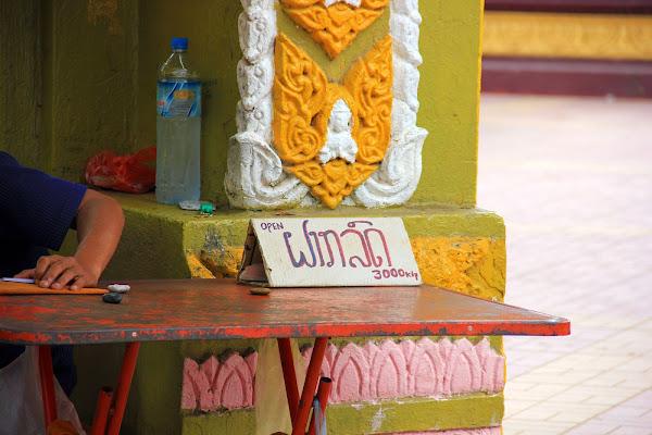 Precio de la entrada al templo Wat Si Muang