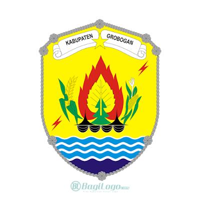 Kabupaten Grobogan Logo Vector