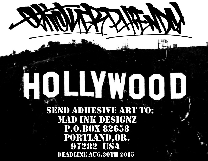 Worldwide call for stickers posters prints deadline aug 30 2015 sticker phiends