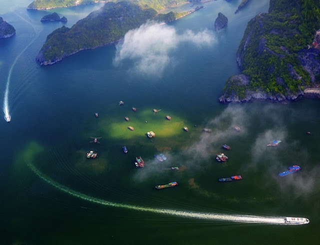 Ha Long Bay, Cat Ba - Nature Masterpiece Seen From The Sky 3