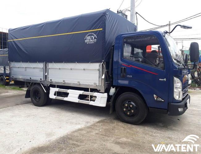 bạt trùm xe tải giá rẻ nhất tại Hà Nội