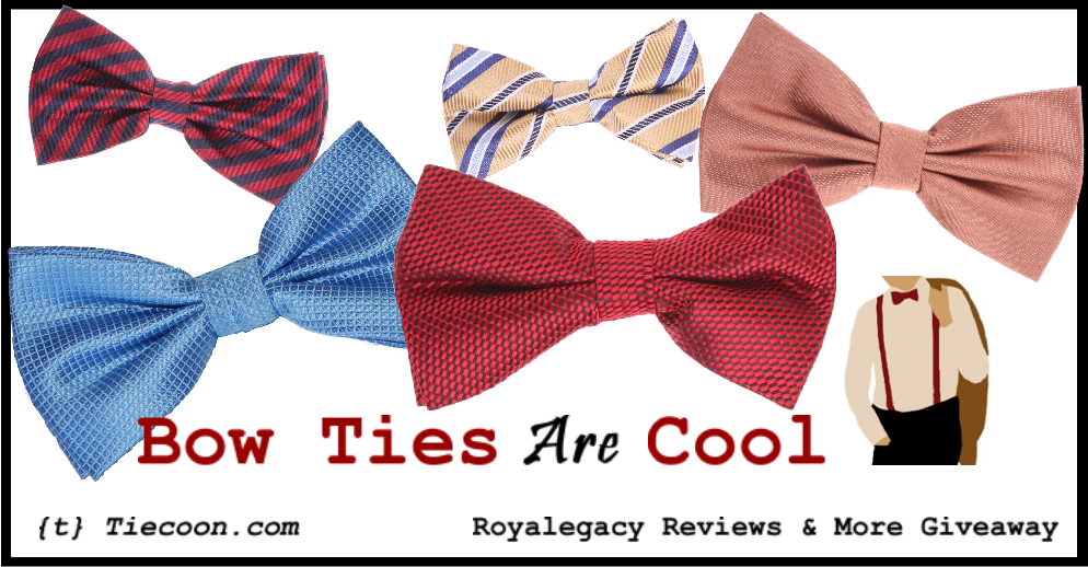 royalegacy reviews and more giveaway don t you know that bow ties