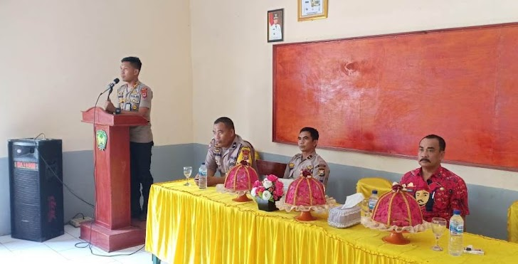 Jelang Natal Dan Akhir Tahun 2019, Kapolsek Bajeng Antisipasi Gangguan Kamtibmas Dengan Silaturahmi
