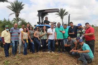 Prefeitura de Governador Newton Bello atende produtores rurais com a Patrulha Agrícola