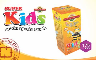 Natural Royal Honey Super Kids - Kesehatan Untuk Anak Afia Sehat
