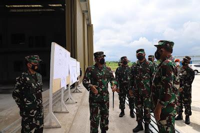 Panglima TNI Tinjau Fasilitas Baru di Lanud Iswahjudi Madiun