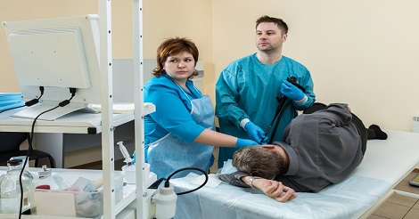 Penyebabnya dengan Pemeriksaan Endoskopi