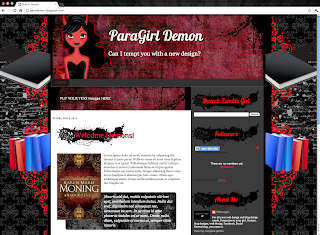 Demon Blogger Template