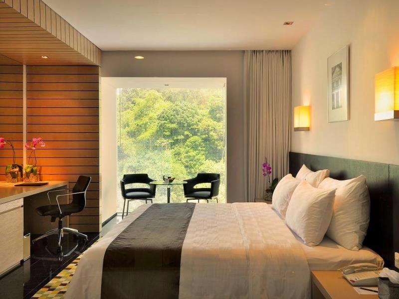 Kamar di Padma Hotel Bandung