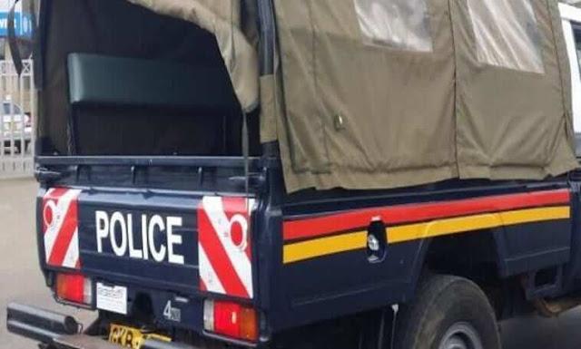 Police in Kirinyaga. FILE